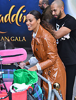 Rochelle Humes attends live-action remake of the hit Disney animated film Aladdin on 9th May 2019 in London, England, UK.<br /> <br /> <br /> CAP/JOR<br /> &copy;JOR/Capital Pictures