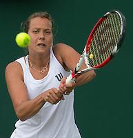 BARBORA ZAHLAVOVA STRYCOVA (CZE)<br /> <br /> The Championships Wimbledon 2014 - The All England Lawn Tennis Club -  London - UK -  ATP - ITF - WTA-2014  - Grand Slam - Great Britain -  30th June 2014. <br /> <br /> © Tennis Photo Network