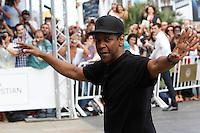 US actor Denzel Whasington arrives to Maria Cristina Hotel during the 62st San Sebastian Film Festival in San Sebastian, Spain. September 19, 2014. (ALTERPHOTOS/Caro Marin) <br /> Festival del film di San Sebastian <br /> Foto Alterphotos/Insidefoto