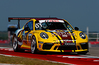 Porsche GT3 Cup Challenge USA<br /> Advance Auto Parts SportsCar Showdown<br /> Circuit of The Americas, Austin, TX USA<br /> Saturday 6 May 2017<br /> 01, Jeff Mosing, GT3P, USA, M, 2017 Porsche 991<br /> World Copyright: Jake Galstad<br /> LAT Images
