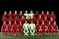 Team Belgium pictured during a photo session presenting the new home kit of the Belgian National Football Team at the Belgian Football center on November 13, 2019 in Tubize, Belgium, 13/11/2019 ( Photo by =423029000475#1= / Photonews<br /> <br /> <br /> <br /> <br /> Tubize 12/11/2019 <br /> Calcio presentazione della nuova maglia della Nazionale del Belgio <br /> Photo De Voecht  Kalut/Photonews/Panoramic/insidefoto<br /> ITALY ONLY