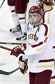 Edwin Shea (BC - 8) - The Boston College Eagles defeated the visiting University of Massachusetts-Amherst Minutemen 2-1 in the opening game of their 2012 Hockey East quarterfinal matchup on Friday, March 9, 2012, at Kelley Rink at Conte Forum in Chestnut Hill, Massachusetts.