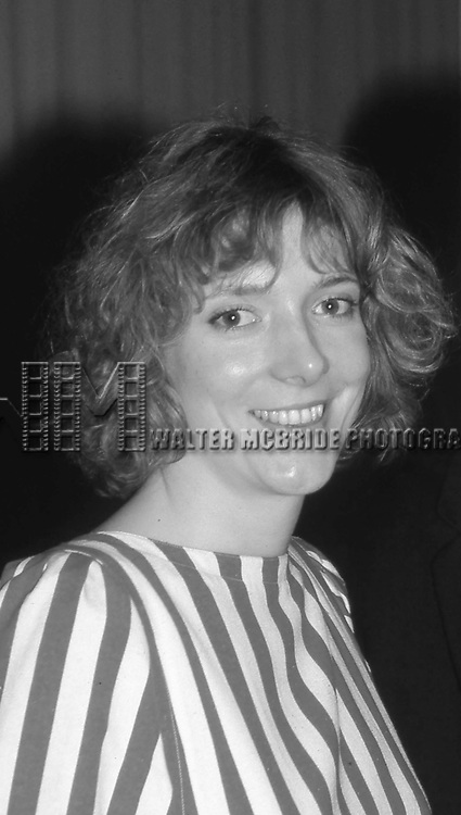 Glenne Headly  attend the Theatre World Awards on June 1, 1984 in New York City.