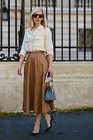 Jane Keltner de Valle at Paris Fashion Week (Photo by Hunter Abrams/Guest of a Guest)