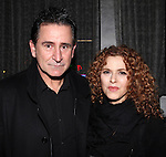 Anthony LaPaglia & Bernadette Peters attending the Opening Celebration for 'Checkers' at the Vineyard Theatre in New York City on 11/11/2012