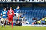 16.11.2019 Rangers Colts v Wrexham: Nathan Patterson with a shot