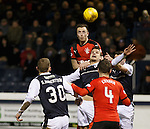 Danny Wilson keeps his eye on the ball