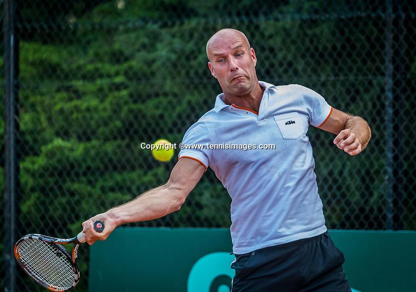 Etten-Leur, The Netherlands, August 26, 2017,  TC Etten, NVK, Alexander van den Akker (NED)<br /> Photo: Tennisimages/Henk Koster