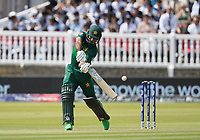 Fakhar Zaman (Pakistan) attempted drive ages to third man during Pakistan vs Bangladesh, ICC World Cup Cricket at Lord's Cricket Ground on 5th July 2019