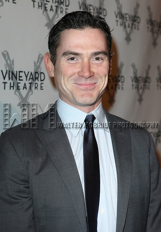 Billy Crudup attending the Vineyard Theatre's 30th Anniversary Gala Celebration Cocktail Reception at the Edison Ballroom in New York City on 3/18/2013
