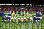 The Kerry team who played Cork in their opening game of the NFL at Austin Stack park, Tralee on Sunday.
