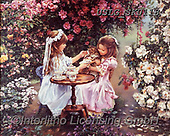 CHILDREN, KINDER, NIÑOS, paintings+++++,USLGSK0118,#K#, EVERYDAY ,Sandra Kock, victorian