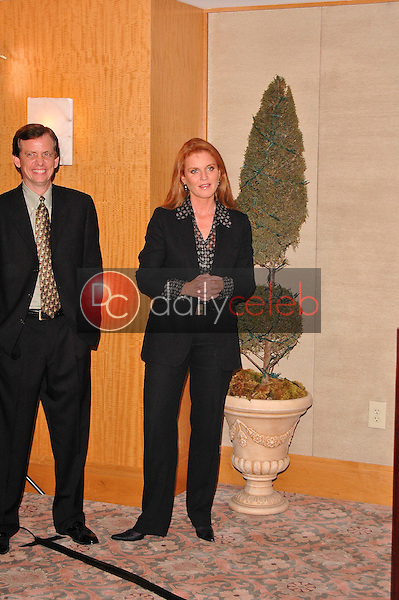 Christopher Zappia and Sarah Ferguson