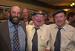 Danny Healy-Rae, left,  pictured with his father Jackie and brother Michael following the announcement that he will take Jackie's seat on Kerry County Council.<br />Picture: Eamonn Keogh (MacMonagle,Killarney0