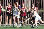 Santa Barbara, CA 02/14/09 - Melanie Waddle (10), Lisa Long (1) & Santa Clara's Megan Markee (3)