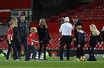 Film Star Julia Roberts watches her children playing football on the Old Trafford turf during the Premier League match at the Old Trafford Stadium, Manchester. Picture date: November 27th, 2016. Pic Simon Bellis/Sportimage