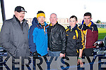 Dr Crokes fans pictured at the All Ireland semi-final held in Portlaoise on Saturday were l-r: Sean O'Mahony Martin Muldoon with John, Michael and Jack Lenihan (Killarney).