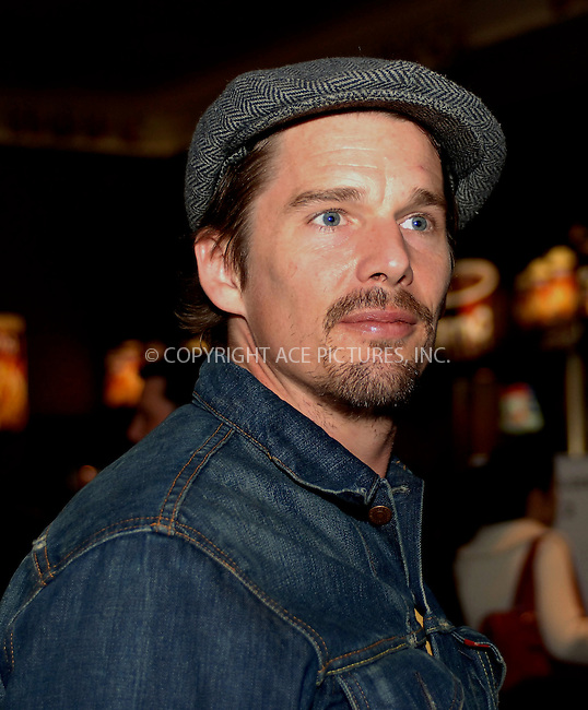 "WWW.ACEPIXS.COM . . . . .  ....NEW YORK, APRIL 27, 2006....Ethan Hawke at the ""One Last Thing"" Premiere at the 5th Annual Tribeca Film Festival.....Please byline: BRETT KAFFEE-ACEPIXS.COM.... *** ***..Ace Pictures, Inc:  ..(212) 243-8787 or (646) 769 0430..e-mail: picturedesk@acepixs.com..web: http://www.acepixs.com"