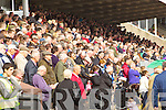 Crowds at the Listowel Races on Sunday.