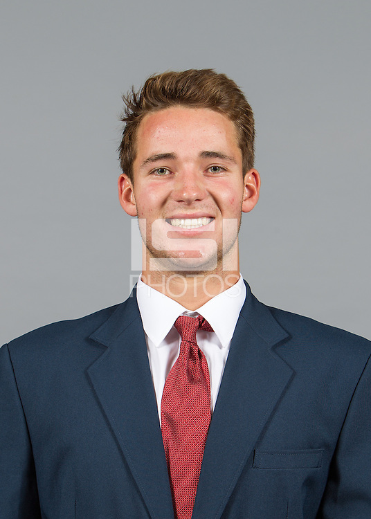 Stanford, CA - August 13, 2015.  Stanford Football Headshots