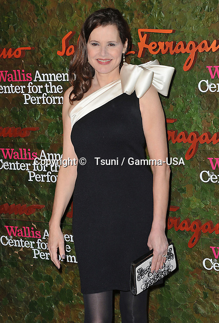 Geena Davis  arriving at the Wallis Annenberg Center for the Performing Arts in Beverly Hills