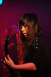 Kaohsiung, Taiwan -- The Taiwanese metal band HEKATE performing in the 'Kiss Me Kill Me Tour 2011' at The Wall Live House (Pier 2).