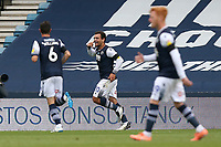 Mason Bennett of Millwall scores the first goal for his team and celebrates during Millwall vs Swansea City, Sky Bet EFL Championship Football at The Den on 30th June 2020