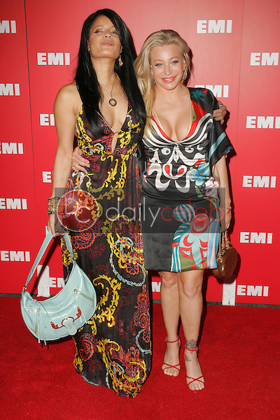 Blu Cantrell and Taylor Dane<br />at EMI's Post-Grammy Bash. Paramount Studios, Hollywood, CA. 02-08-06<br />Dave Edwards/DailyCeleb.com 818-249-4998