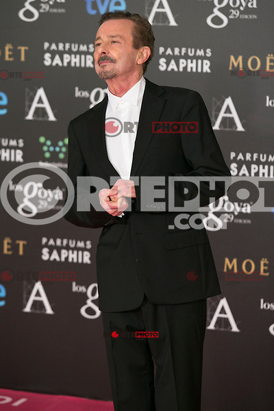 Juan Diego attend the 2015 Goya Awards at Auditorium Hotel, Madrid,  Spain. February 07, 2015.(ALTERPHOTOS/)Carlos Dafonte) /NORTEphoto.com