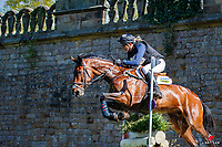 AUS-Bill Levett rides Shanondale Titan during the ERM CCI-S4* Cross Country. 2019 GBR-Dodson and Horrell Chatsworth International Horse Trial. Sunday 12 May. Copyright Photo: Libby Law Photography