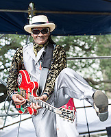 Little Freddie King at the 2012 Blues and BBQ Festival in New Orleans, LA.