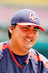 30 June 2005: Chad Cordero, all-star closing pitcher for the Washington Nationals, prior to a game against the Pittsburgh Pirates. The Nationals defeated the Pirates 7-5 to sweep the 3-game series at RFK Stadium in Washington, DC.  Mandatory Photo Credit: Ed Wolfstein
