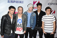 NEW YORK, NY - DECEMBER 07: The Wanted at Z100's Jingle Ball 2012, presented by Aeropostale, at Madison Square Garden on December 7, 2012 in New York City. NortePhoto