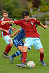 NELSON, NEW ZEALAND - JULY 4: Tasman Premier Football, Nelson College v Rangers AFC, Ngawhatu, Nelson, 4th July, New Zealand. (Photos by Barry Whitnall/Shuttersport Limited)