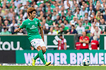 01.09.2019, wohninvest WESERSTADION, Bremen, GER, 1.FBL, Werder Bremen vs FC Augsburg<br /> <br /> DFL REGULATIONS PROHIBIT ANY USE OF PHOTOGRAPHS AS IMAGE SEQUENCES AND/OR QUASI-VIDEO.<br /> <br /> im Bild / picture shows<br /> Yuya Osako (Werder Bremen #08), <br /> <br /> Foto © nordphoto / Ewert