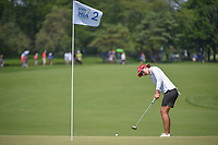 Carlota Ciganda (ESP) watches her putt on 2 during round 3 of the 2018 KPMG Women's PGA Championship, Kemper Lakes Golf Club, at Kildeer, Illinois, USA. 6/30/2018.<br /> Picture: Golffile | Ken Murray<br /> <br /> All photo usage must carry mandatory copyright credit (&copy; Golffile | Ken Murray)