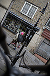 05/05/2015 Sheppards Barton steps to Catherine Hill, Frome, Somerset, UK.