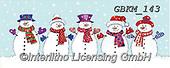 Kate, CHRISTMAS SANTA, SNOWMAN, WEIHNACHTSMÄNNER, SCHNEEMÄNNER, PAPÁ NOEL, MUÑECOS DE NIEVE, paintings+++++Christmas page 29,GBKM143,#x#