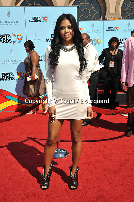 Amerie -<br /> BET Awards 2009 at the Shrine Auditorium In Los Angeles.