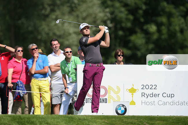 Tyrrell Hatton (ENG) on the 12th during Round Two of the 2015 BMW International Open at Golfclub Munchen Eichenried, Eichenried, Munich, Germany. 26/06/2015. Picture David Lloyd | www.golffile.ie