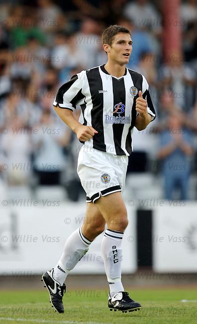 John Sutton, St Mirren.stock season 2006-2007.pic willie vass
