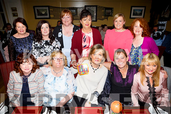 Ann Coffey, Fenit,  celebrates a birthday with friends from debenhams Tralee at the Brogue Inn on SaturdayFront l-r Joan Fitzgerald, Rita Gleason, Ann Coffey, Jan Tobin, Caroline Stack, Back l-r Joan O'Sullivan, Michelle Lynch, Martha Leen, Geraldine O'Regan, Karen Joy and Martina Ryan
