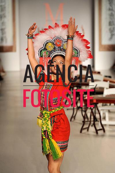 Nova Iorque, EUA &sbquo;09/2014 - Desfile de Malan Breton durante a Semana de moda de Nova Iorque  -  Verao 2015. <br /> <br /> Foto: FOTOSITE