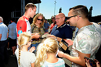 EMMEN - Opendag FC Emmen , Oude Meerdijk, seizoen 2018-2019, 15-07-2018,  FC Emmen speler Tim Siekman