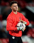 Kieran O'Hara of Manchester United warms up during the UEFA Europa League match at Old Trafford, Manchester. Picture date: November 24th 2016. Pic Matt McNulty/Sportimage