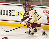 ?, Blake Bolden (BC - 10) - The Boston College Eagles defeated the visiting Harvard University Crimson 3-1 in their NCAA quarterfinal matchup on Saturday, March 16, 2013, at Kelley Rink in Conte Forum in Chestnut Hill, Massachusetts.