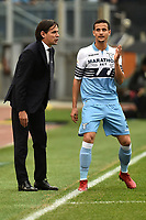 Simone Inzaghi of Lazio and Luiz Felipe of Lazio during the Serie A 2018/2019 football match between SS Lazio and Cagliari at stadio Olimpico, Roma, December 22, 2018 <br />  Foto Andrea Staccioli / Insidefoto
