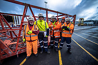 Site operations at CentrePort in Wellington, New Zealand on Friday, 3 August 2018. Photo: Dave Lintott / lintottphoto.co.nz
