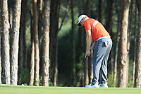 Tom Lewis (ENG) during the second round of the Turkish Airlines Open, Montgomerie Maxx Royal Golf Club, Belek, Turkey. 08/11/2019<br /> Picture: Golffile | Phil INGLIS<br /> <br /> <br /> All photo usage must carry mandatory copyright credit (© Golffile | Phil INGLIS)