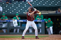 Taylor Walls (10) of the Florida State Seminoles at bat against the Notre Dame Fighting Irish in Game Four of the 2017 ACC Baseball Championship at Louisville Slugger Field on May 24, 2017 in Louisville, Kentucky. The Seminoles walked-off the Fighting Irish 5-3 in 12 innings. (Brian Westerholt/Four Seam Images)